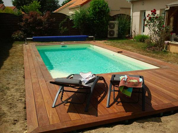 Coque polyester rectangulaire alliance piscines fond plat for Piscine celestine 7